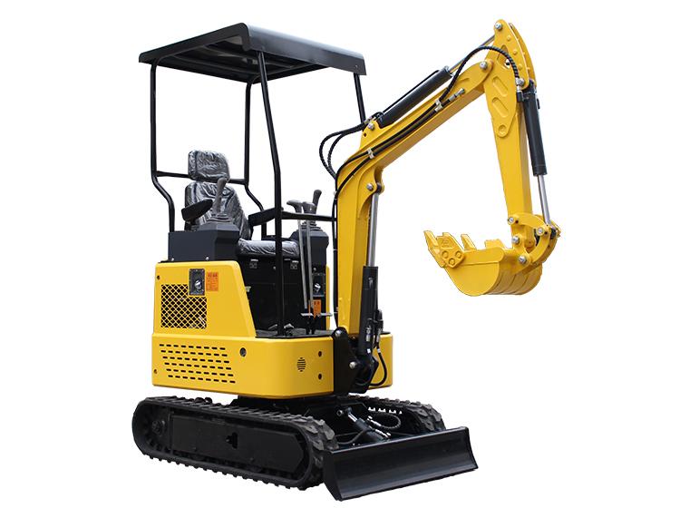 R325 mini crawler excavator