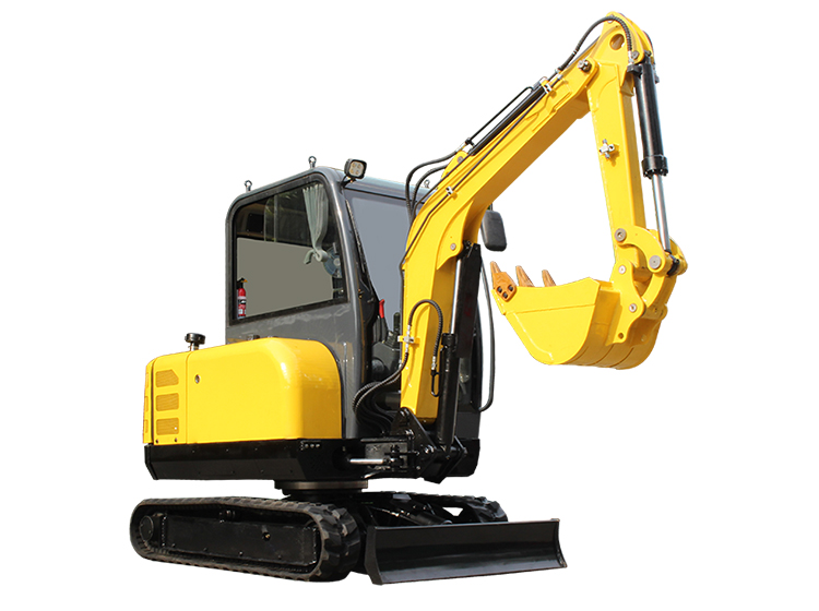 R350 small farm excavator