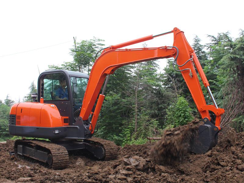 R360 small excavator municipal engineering construction
