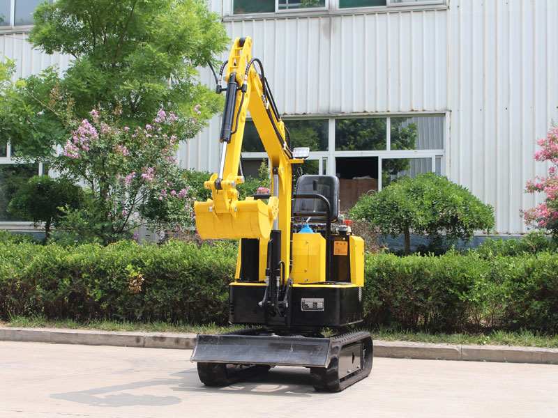 Quotation of various models of small excavators