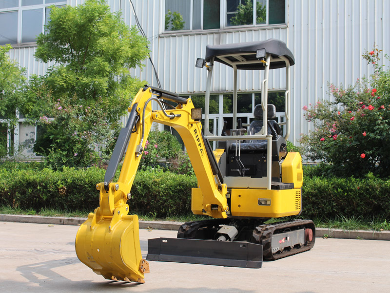 Is it profitable to buy a small excavator now? How much is it?