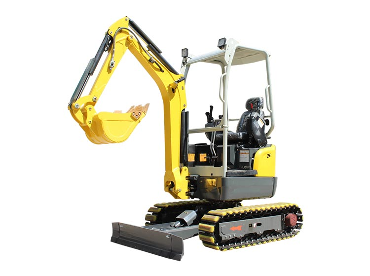 mini excavator with grapple for sale